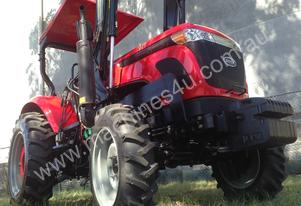 WHM 53HP 4WD Tractor with FEL&FREE 5ft Gal Slasher
