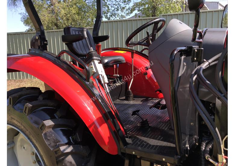 WHM 53HP 4WD Tractor with 4:1 Self Levelling Front End Loader