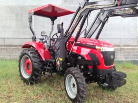 WHM 53HP 4WD Tractor with 4:1 Self Levelling Front End Loader - picture2' - Click to enlarge