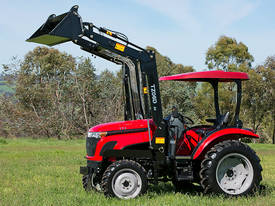 WHM 53HP 4WD Tractor with 4:1 Self Levelling Front End Loader - picture3' - Click to enlarge
