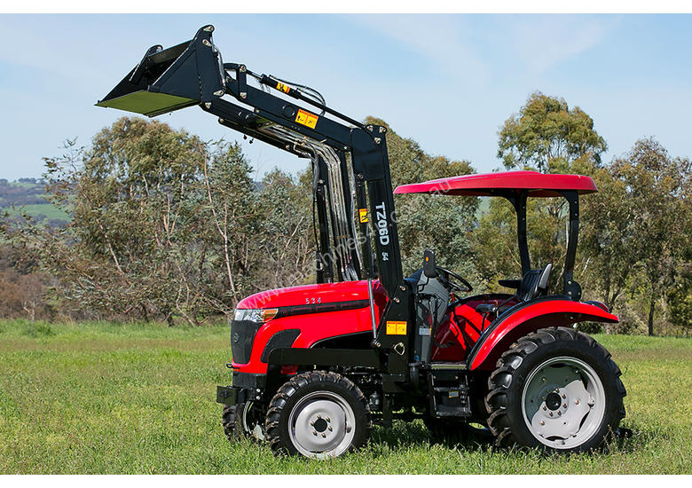 WHM 53HP 4WD Tractor with FEL