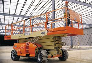 JLG - 4394 RT - Diesel Scissor Lift for HIRE