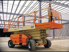 JLG - 4394 RT - Diesel Scissor Lift for HIRE - picture0' - Click to enlarge