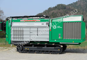 DUAL-SHAFT SHREDDER FOR WOOD AND GREEN WASTE