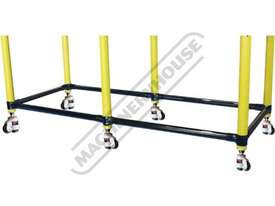 TMLB12 BuildPro Leg Brace Assembly Suits 1160 x 1000-1150mm Tables - picture0' - Click to enlarge