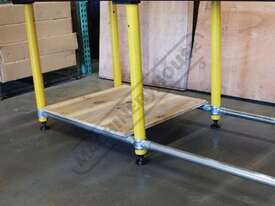 TMLB12 BuildPro Leg Brace Assembly Suits 1160 x 1000-1150mm Tables - picture3' - Click to enlarge