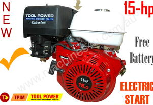 Engine TOOL POWER 15hp Petrol = With battery***