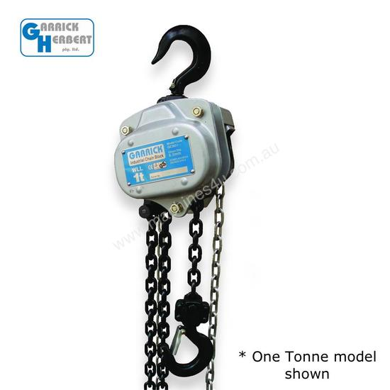 500KG 0.5T 6M Lift Tackle Brake Manual 0.5 Ton 6 Metre Chain Hoist Block