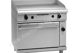 Waldorf 800 Series GP8910GEC - 900mm Gas Griddle Electric Convection Oven Range