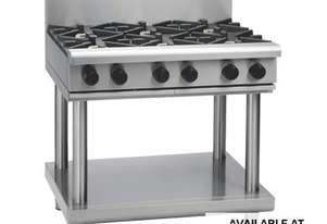 Waldorf 800 Series RNL8609G-LS - 900mm Gas Cooktop Low Back Version `` Leg Stand