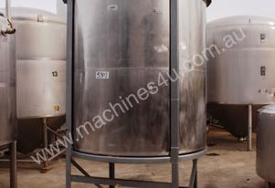 Stainless Steel Mixing Tank - Capacity 5,000 Lt.