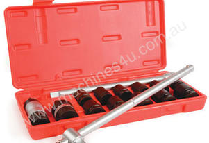 IMPACT SOCKET SET 1/2DR 15 PCE 10-24MM