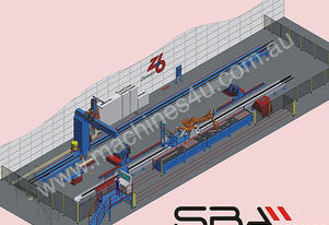 Zeman Compact Steel Beam Assembly Machine