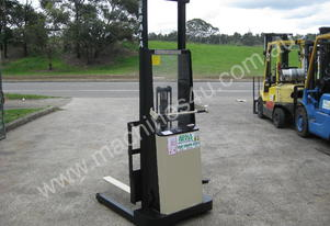 Small Crown Walk Behind Stacker Forklift