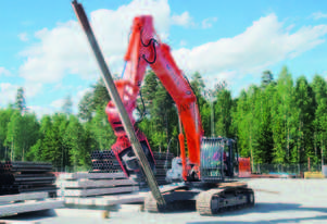MOVAX ML-25 EXCAVATOR MOUNT PILE DRIVER (9-12T)