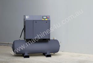 7.5kW (10HP) Screw Compressor on Receiver
