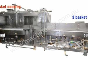 Cooker/Chiller (Continuous Basket Type - All s/s)