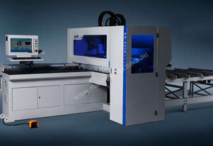 5 side boring, face routing CNC throughfeed . High speed