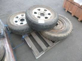 Assorted Tyres And Rims