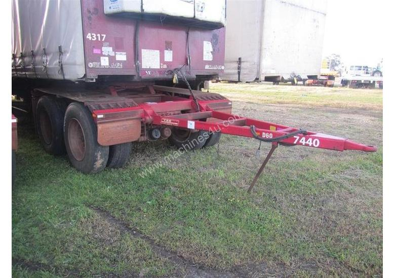 Used Tse DOLLY Dolly Trailer in PERTH INTERNATIONAL AIRPORT, WA