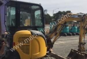 Mini Excavator available now, 3 buckets included
