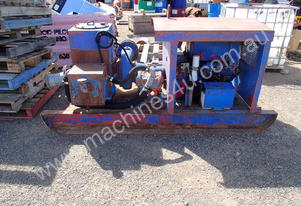 Multi Flo Skid Mounted Water Pump
