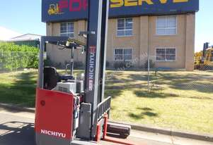 Nichiyu Electric Reach - New Paint, Huge 9 metre lift, Serviced, Battery with Warranty