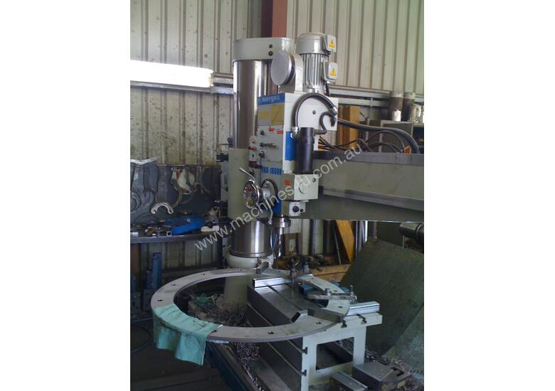 FRD 750 to FRD 1700 Radial Arm Drills