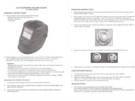 EWWH02-1007M Auto Welding Helmet - picture4' - Click to enlarge