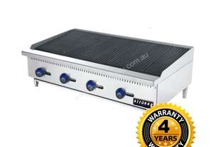 Benchtop Gas 4 Burner Chargrill