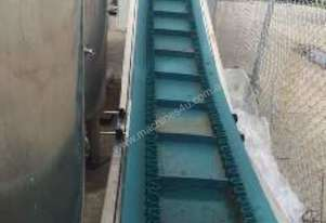 Australian Made Inclined Cleated Conveyor
