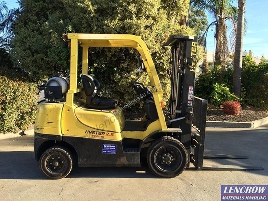 Used hyster H2 5TX-EL Counterbalance Forklift in , - Listed