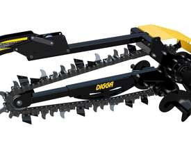 NEW DIGGA SKID STEER HYDRIVE XD TRENCHER - picture0' - Click to enlarge