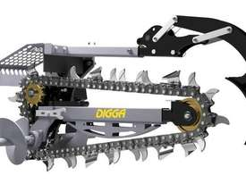 NEW DIGGA SKID STEER HYDRIVE XD TRENCHER - picture1' - Click to enlarge