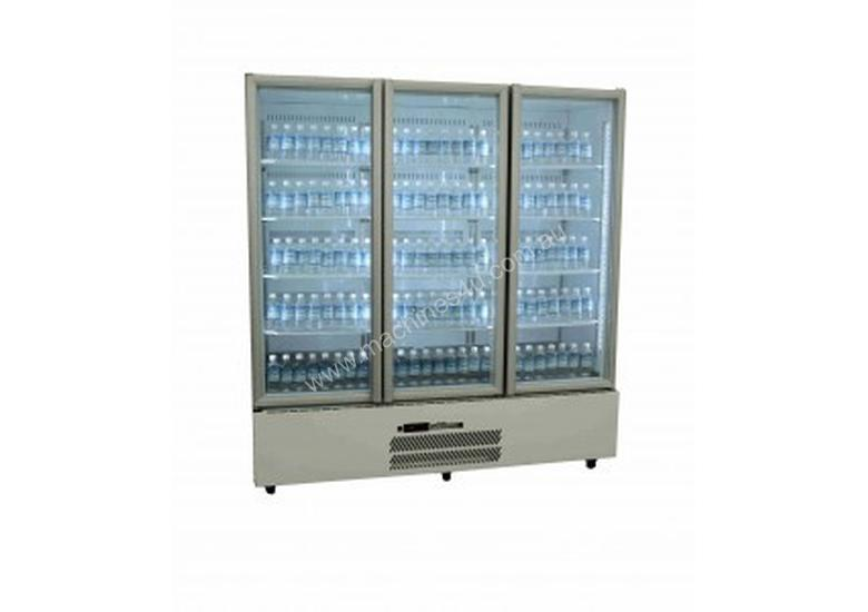 Williams 3 Glass Door Quartz Star Gn Fridge Hqs3gdcb