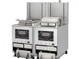 PXE 100 VELOCITY Eight Head - Automatic Filtering Pressure Fryer - picture0' - Click to enlarge