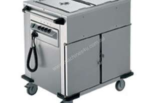 Rieber NORM-II-2 - Bain Marie Top 2 x Heated Cabinets Mobile Food Transport Trolley