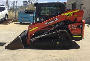 2016 Kubota SVL75 Rubber Tracked Skid Steer - Low 408 Hours