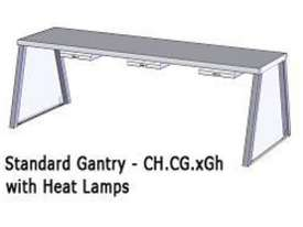 Culinaire CH.CG.5GH 5 Bay Heated A Frame Gantry - picture0' - Click to enlarge