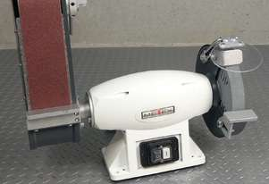 SALE!!!- BENCH GRINDER LINISHER METEX OPTI 200mm/8