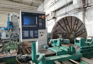 Refurbished 4 metre turning Niles DP 4000 CNC Lathe with Siemens 802D