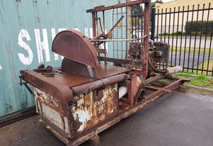 Saw Mill Log Saw Firewood Cutter with bells & Whistles