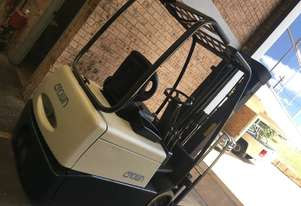 Forklift CROWN SC4500 1.5ton 4.8m Container Mast Side Shift 3 Wheel    Great battery ! Tested
