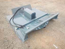 Unused 1800mm Hydraulic Brush Cutter to suit Skidsteer Loader - 10419-19 - picture0' - Click to enlarge