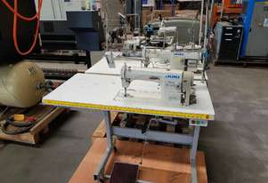 JUKI/HIGHLEAD/DUMA Industrial SEWING MACHINES (4) OVERLOCKERS (2) From $450. PORTABLE FABRIC CUTTERS