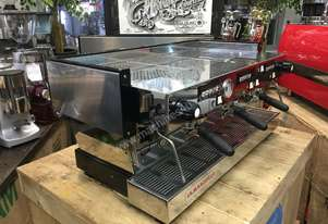 LA MARZOCCO LINEA CLASSIC 3 GROUP ESPRESSO COFFEE MACHINE CHROME HIGH VOLUME CAFE RESTAURANT LATTE