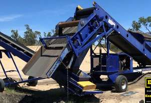 2014 Precisionscreen 604 Screening Plant & SM450 Conveyor. EMUS NQ