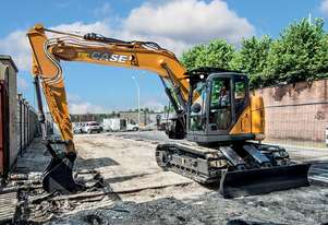 CASE CX145C SR SHORT RADIUS EXCAVATORS