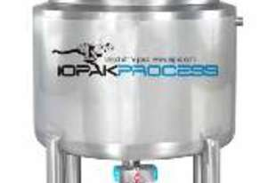 Jacketed 250L Cooker Kettle (Scrape Sided) 316