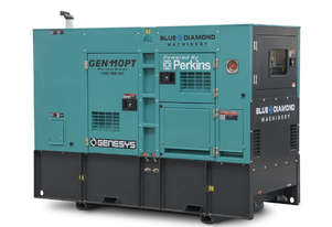 110 kVA Diesel Generator PERKINS Engine - 415V - 3 Years Warranty